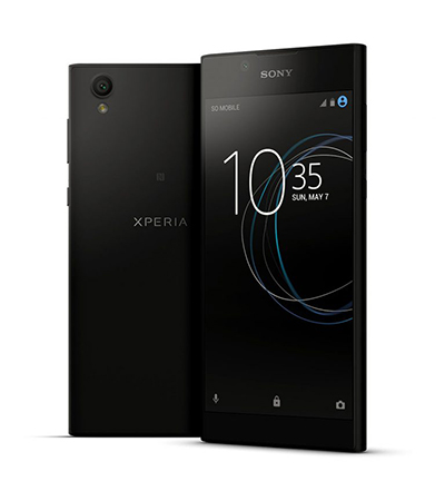 Sony Xperia L1 с 5,5-дюймовым дисплеем, Android 7.0, 4G LTE